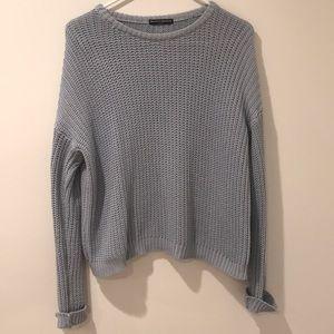 baby blue sweater BRANDY MELVILLE